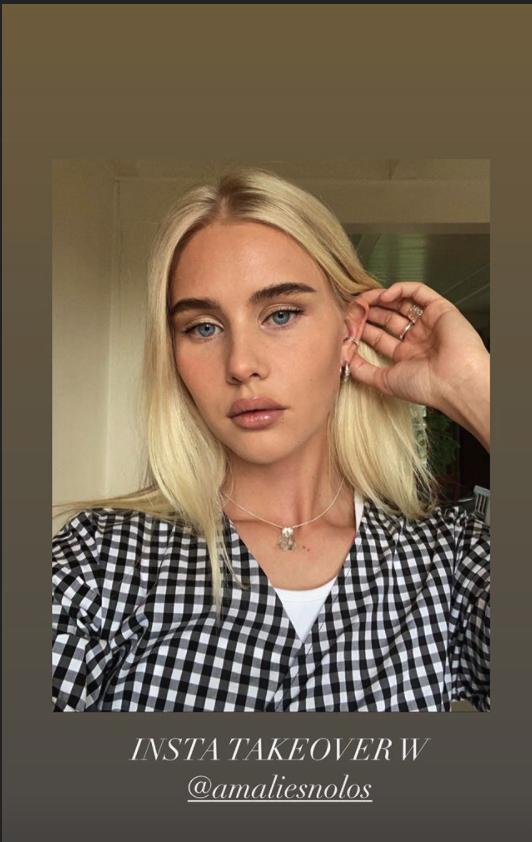 Amalie Snøløs Instagram takeover