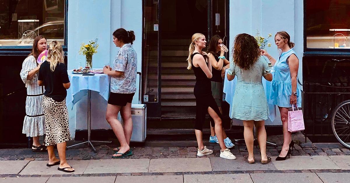 Fredagsbar hos Jane Kønig