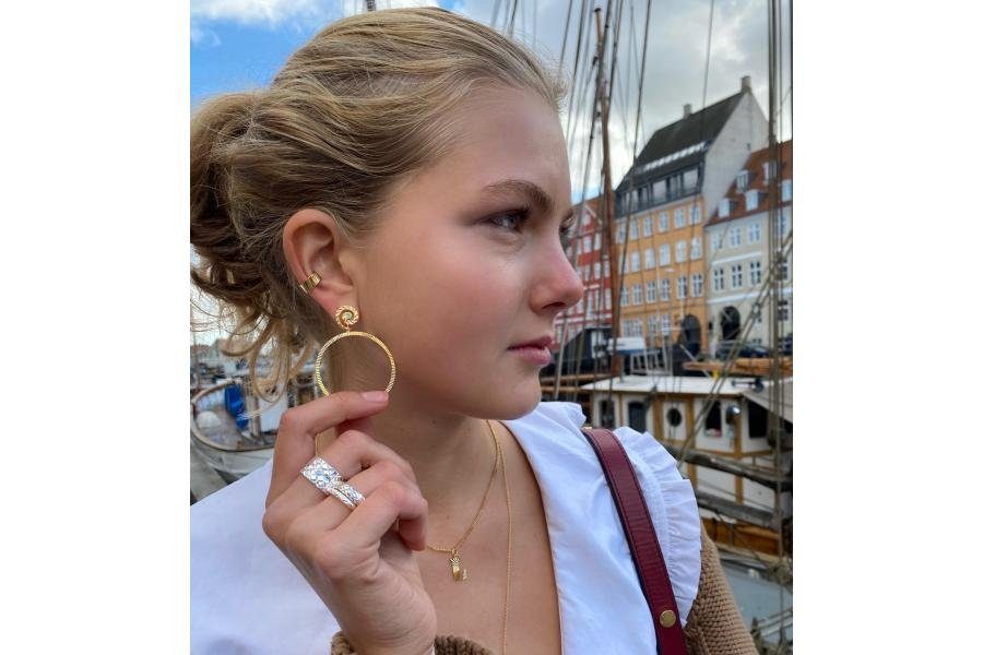 The great hoop guide. Take a look at the beautiful hoop earrings from Jane Koenig.