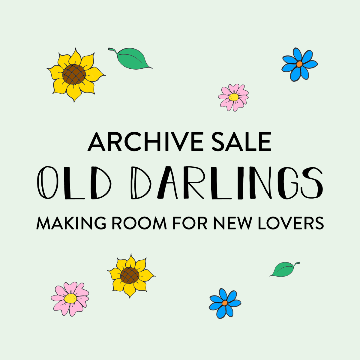 Old Darlings Archive Sale