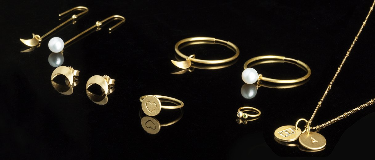 18-carat jewellery from Jane Kønig