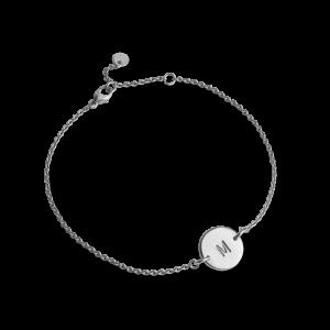 Lovetag Bracelet with 1 Lovetag, sterlingsilver