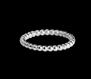 Small Ball Ring, Sterlingsilber