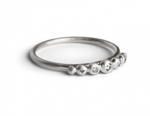 Big Diadem Ring, sterling sølv