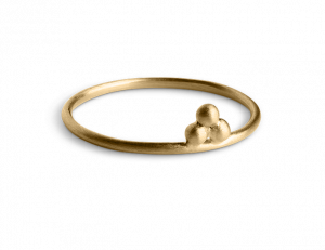 Temple Ring, 18-carat gold