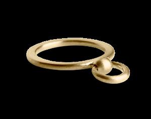 Septum Ring, vergoldetem Sterlingsilber