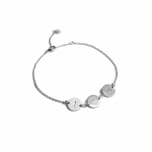 I Love You Bracelet, sterlingsølv