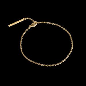 Ankerkettenarmband, vergoldetem Sterlingsilber