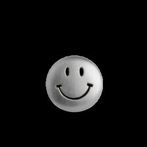 Smiley Badge, sterling sølv