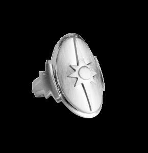 Shield Ring, sterlingsølv