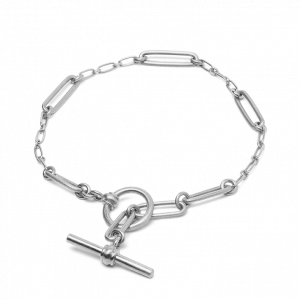 Bridle Bracelet, sterling silver