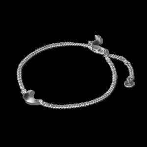 Half Moon Bracelet, Sterlingsilber
