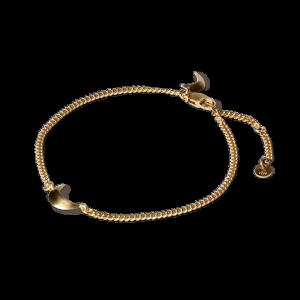 Half Moon Bracelet, förgyllt sterlingsilver