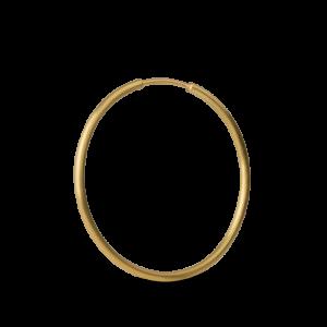 Big hoops, 18-karätigem Gold