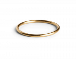 Simple Ring, forgyldt sterling sølv