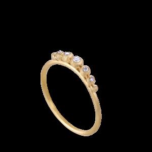 Diadem Ring | Stor | Forgyldt