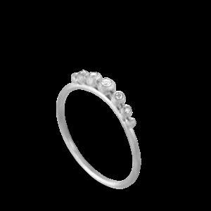 Diadem Ring | Stor | Sølv