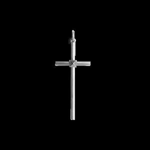 Small Simple Cross, sterling sølv