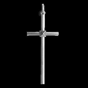 Big Simple Cross, sterling sølv