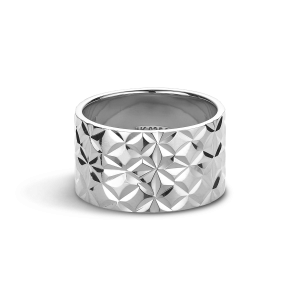 Big Reflection ring, sterlingsilver