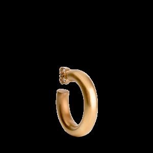 Chunky Hoop, vergoldetes Sterlingsilber