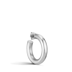 Shiny Chunky Hoop, Silber