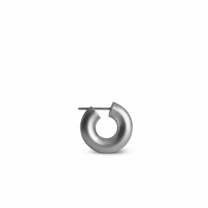 Small Chunky Hoop, sølv