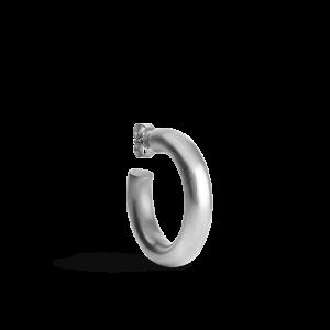 Large Chunky Hoop, sterlingsølv