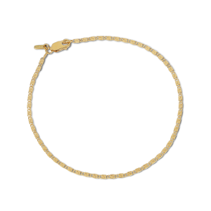 Envision S-Chain Bracelet, gold-plated sterling silver