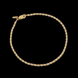Envision S-Chain Bracelet, forgyldt sterlingsølv
