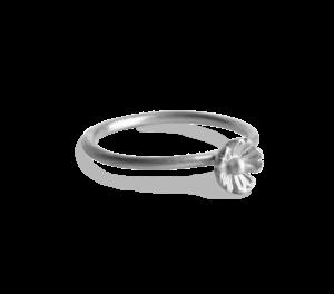 Small Flower Ring, sterlingsølv
