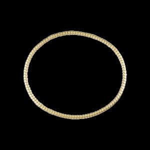 Snoet armånd, 18 karat guld