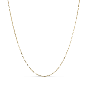 Figaro panzer necklace, 18 karat gull