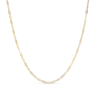 Navette necklace Chain, 2,4 mm, 18 karat guld