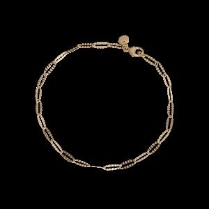Navette bracelet Trace, 2.4 mm., 18 karat gull