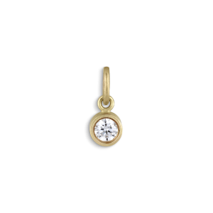 Pendant, 0,10 carat diamond, 18 carat gold