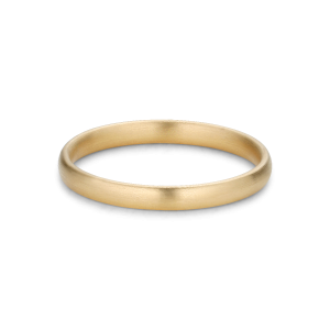 Simple wedding ring, men, 18 carat gold