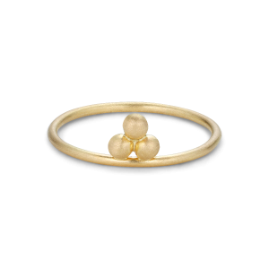 Temple Ring, 18-carat gold