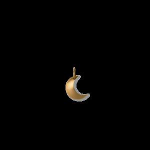Half Moon pendant, 18 karat guld