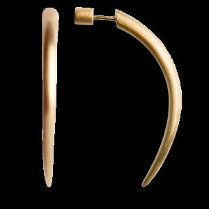 Horn | Stor | Mat forgyldt