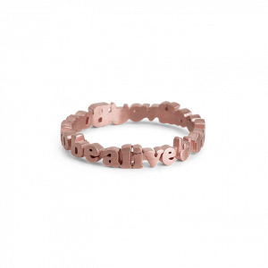 Born To Be Alive Ring