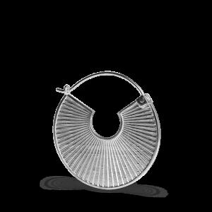 Plissé | Mat sølv