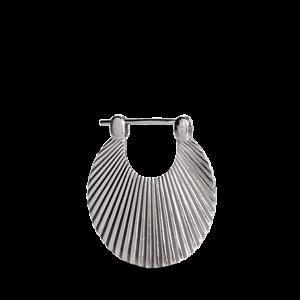 Shell | Lille | Mat sølv