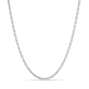 F+E Chain Necklace, Sterlingsilber