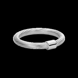 Medium Salon Ring, Sterling silver