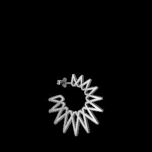 Sun Earring, sterling sølv