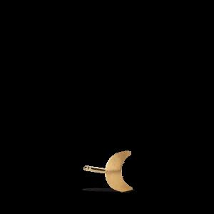 Small Half Moon Stud, forgyldt sterling sølv
