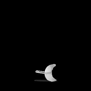 Small Half Moon Stud, sterling sølv