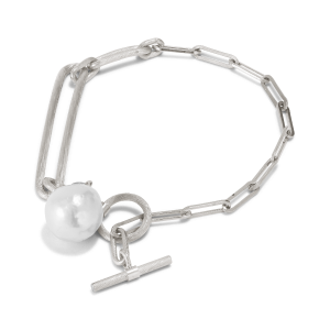 Salon Pearl armbånd, sterling sølv