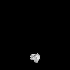 Scallop Ørestik | Forfra | Sølv